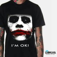 harga kaos 3D face i'm ok/kaos3d umakuka/kaos pria/kaos keren Tokopedia.com