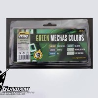 MIG Acrylic Set (6x17ml) : Green Mecha Colors