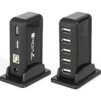 Jual 7 Ports Hi Speed Usb 2.0 Hub + Adaptor 2a Murah