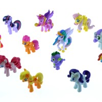 harga Figur Little Pony Murah FIGURINE MY LITTLE PONY ISI 12 (UKURAN KECIL) Tokopedia.com