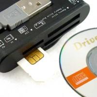 harga SIM & Card Reader (Black / White) Sim Card Handphone - E-Blue Circulo Tokopedia.com