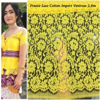 Kebaya france lace cotton import venirose 2,6