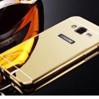 Galaxy Mega 5.8 i9152 Aluminum Bumper Mirror Hard Back Case