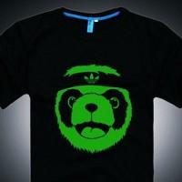 Tshirt Glow In The Dark Panda - One Tshirt