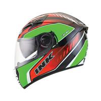 Helm INK CBR 600 Fullface Black Green Red Full Visor CBR600