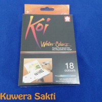 SAKURA Koi Water Colors 18 Warna