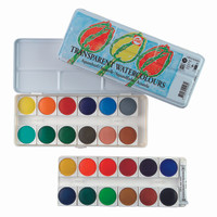 TALENS TRANSPARENT WATER COLOURS SET