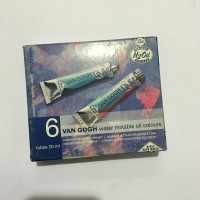 VAN GOGH WATER MIXABLE OIL COLOURS 6 TUBES *SPECIAL PRICE*