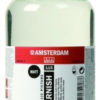 AMSTERDAM ACRYLIC VARNISH MATT 115 1000 ML