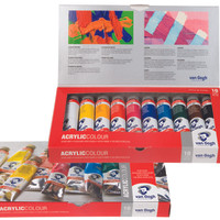 VAN GOGH ACRYLIC COLOUR 10 TUBES 40 ML