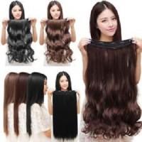 Grosir Hair Clip Semi Human Curly.*Berkualitas*