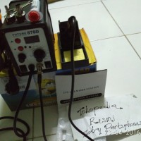 harga Solder Uap (blower) (2 In 1) (future 878d) (system Digital) Original Tokopedia.com