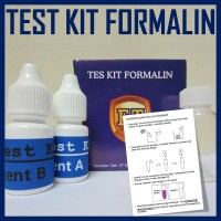 Test Kit Formalin Tipe 1, Paling Banyak Digunakan di Indonesia