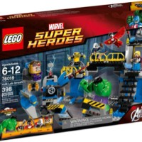 Lego 76018 Super Heroes Hulk Lab Smash