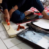 Jasa Finishing Undangan Hard Cover (Lem Lipat dsb)