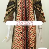 Dress Batik Big Size Wanita Size XL Kode: 4315