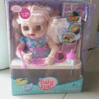 harga Boneka Baby Alive / My Baby Alive Doll TALK PEE and POOP Tokopedia.com