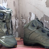 "Sepatu Outdoor ESDY 6"" tactical hiking boots import"