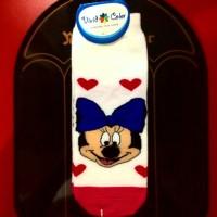 Kaos Kaki 3D Panjang Motif 1 Minnie Mouse