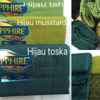 harga Sarung Sapphire Tumpal Dobby Green Edition Tokopedia.com