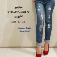 Celana jeans STRADIVARIUS size 27-30 premium quality, jeans stretch
