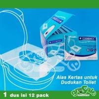 Harga alas duduk paper kertas tisu toilet hygienex kesehatan | antitipu.com