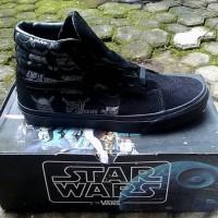 Jual Sepatu Vans Sk8 Starwars Darth Vader ICC Murah
