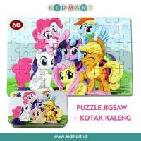 Jual My Little Pony Puzzle Kaleng Jigsaw Kayu 60 potong Murah