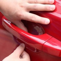Jual Car Vinyl Stickers Universal Door Handle Bowl Protective Film Murah