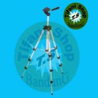 Tripod Weifeng Portable Stand 4-Section Aluminum Legs with Brace MURAH