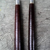 ruyung double stick dobel stik nunchaku baton kayu gta pes 2016 ninja