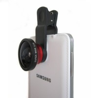 Jual Lensa kamera handphone SUPER WIDE 0,4 Fish Eye Murah