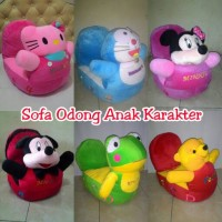 Sofa odong boneka mickey minnie pooh hello kitty keroppi