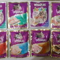 Whiskas pouch 85gr isi 24 pcs