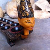 Jual Dakon Congklak Kayu Batik Model Pengantin Murah