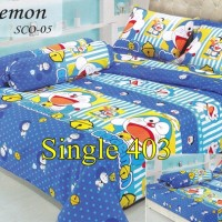 Sprei Doraemon Nobita Import Uk 120x200 - Single 403