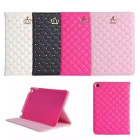 Bookcover iPad mini 2 3 4 Crown Case Fashion leather style
