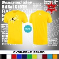 Kaos murah JORDAN FLIGHT/Tshirt Olahraga/Baju distro murah