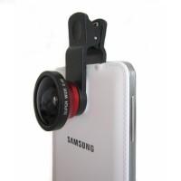 Jual Lensa kamera handphone SUPER WIDE 0,4 Fish Eye GO PRO Murah