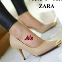 Heels Zara Nude /mocca