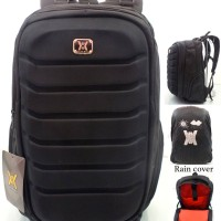 VERY RECOMMENDED!! Tas Ransel Pria / Laptop Case / Rain Cover 7672