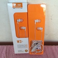 "headset VIVAN ""RESONG W3+"" jack 3.5mm ""white"" original 100%"