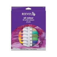 REEVES Oil Colour Paint Set 24 pcs