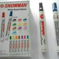 spidol snowman white board