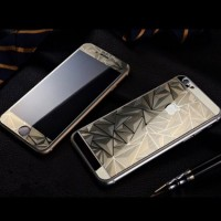 iPhone 5/5s 3D DIAMOND GOLD | Tempered Glass For iPhone