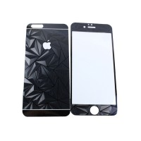 iPhone 5/5s 3D DIAMOND BLACK | Tempered Glass For iPhone