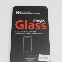 HTC ONE M9 Magic Glass Premium Tempered Glass with Metal Packaging