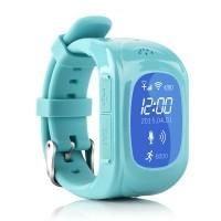 Jam Tangan GPS UWatch untuk Anak-anak (Warna Biru)