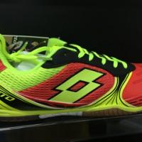 harga Sepatu futsal Lotto tacto 500 id red/yellow original murah Tokopedia.com
