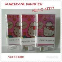 Jual Powerbank/Power Bank Hello Kitty Slim 5000mAh. Murah